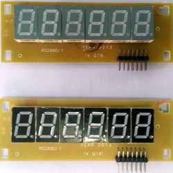 6 Digit Display